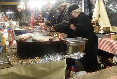 hot dog stall