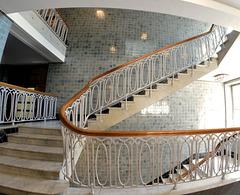 Treppen im Esplanade-Bau