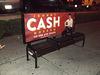 Sitting down on cash