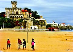 Praia do Tamariz / Forte da Cruz  Estoril - Lisboa