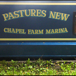 Pastures New narrowboat