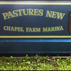 Pastures New narrowboat