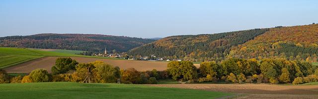 Ausblick vom Döhmberg