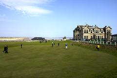 The 18th hole - Saint Andrews, Fife - Scotland
