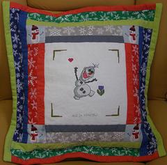 Poduszka dla Damiana J. 6 lat z Domu Dziecka w Nysie