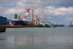 Ship building in DSME