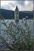 Der Kirchturm von Altgraun
