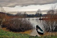 Hochwasser - Flooding in winter
