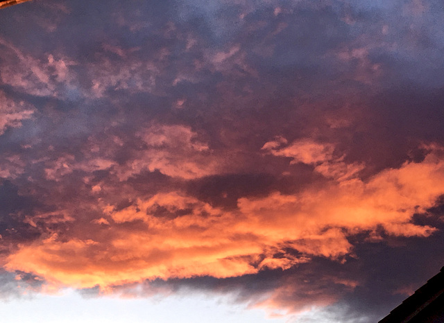 Wolken heute Abend
