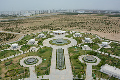 Ashgabat, View to the East from Neutrality Monument