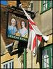 King & Queen pub sign