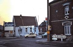 Douchy-les-Mines (59) 25 janvier 1979. (Diapositive numérisée).