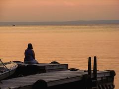 Lake Nipissing, Golden Hour - 2007 (PiP)