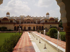 Laxmi Villas Palace (1899).