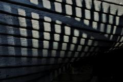 Shadows At The Boat Repair Yard