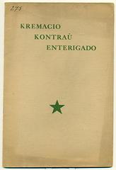 Kremacio kontraŭ Enterigado, 1913