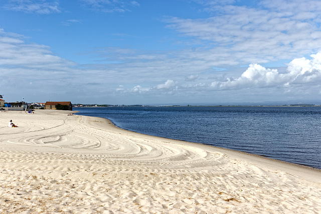 Praia do Monte Branco, Torreira, Murtosa, Portugal