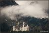 Nebulöse Macht über dem Märchenschloss
