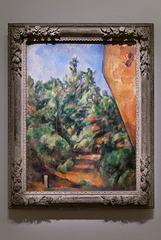 """""""Le rocher rouge"""" (Paul Cézanne - Vers 1895)"""