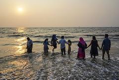Fort Kochi beach.