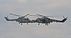 Royal Navy Black Cats ( Lynx display team )