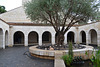 Galilee, Courtyard of the Bread and Fish Church