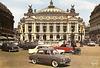 Paris (75) Place de l'Opéra dans les années 60. (Carte postale de ma collection)