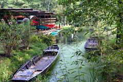 Bootsverleih im Spreewald