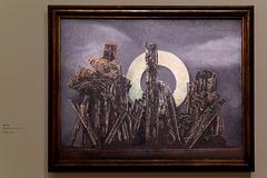 """""""La grande forêt"""" (Max Ernst - 1927)"""