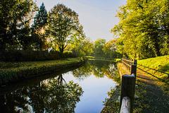 Flânerie en bordure du Canal du Centre à Remigny.