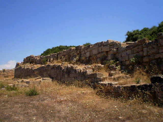 Ruins of Acropolis' strongholds.