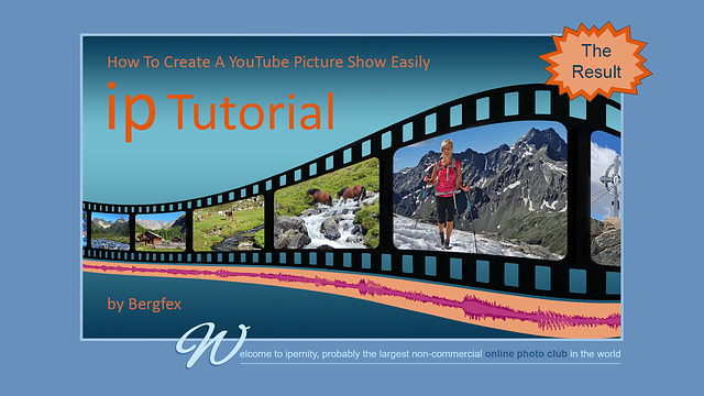 How To Create A YouTube Picture Show Easily - The Result