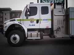 U.S. Fish and Wildlife Fire crew
