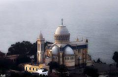 Notre Dame d'Afrique a Alger.