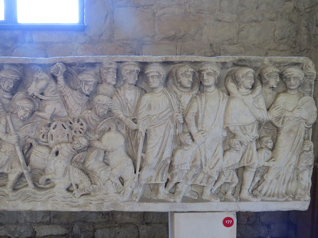 Musée archéologique de Split : traversée de la mer rouge, 2