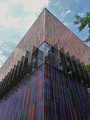 Museum Brandhorst, Fassade