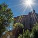 Burg Kriebstein im Gegenlicht