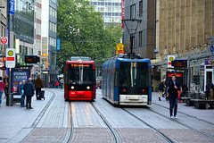 Bremen 2015 – Two trams