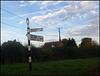 Oxfordshire signpost