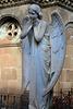 Une des oeuvres d'art du cimetière de Poblenou - Barcelone