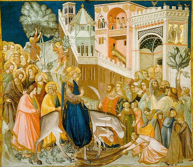Dimanche des Rameaux, l'entrée du Christ à Jérusalem