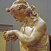 Detail of Dionysos Seated on a Panther in the Metropolitan Museum of Art, February 2014