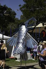 Heron:- Mandurah Crab Festival