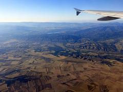volando sulla Spagna