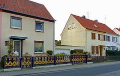 Der Zaun in Neu-Isenburg