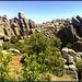 Even more granite! High on the ridge.