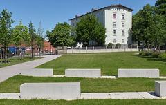 Das (ehemalige) Harburger Schloss (7xPiP)...