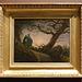 Two Men Contemplating the Moon by Caspar David Friedrich in the Metropolitan Museum of Art, Feb. 2020
