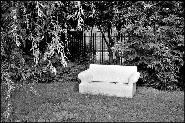 Couch, Elam Street Gardens.
