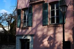 La rue de l'Abreuvoir à Montmartre